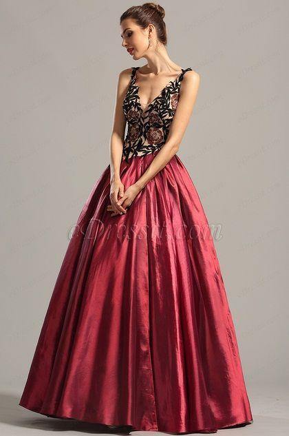eDressit Vintage Sleeveless V Neck Formal Gown Prom Dress ($279.99) #edressit #prom_dress #formal_dress #fashion
