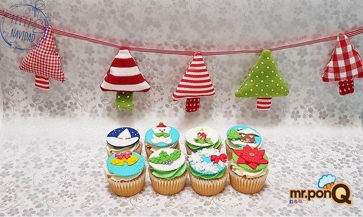 Cupcakes con estilos diferentes para todos los gustos.