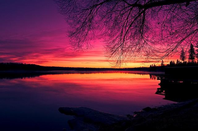 Barrier Bay, Whiteshell, Manitoba.