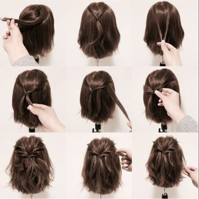Short Hairdos For Prom 2018 Hair Styles Short Hair Updo Hairdos For Short Hair