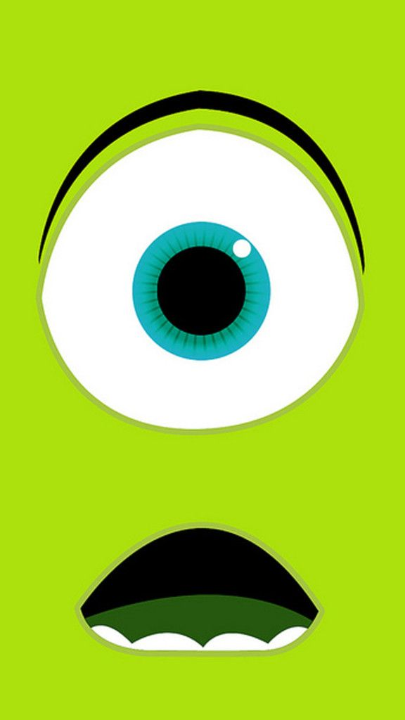 Monsters University Mike iPhone Wallpaper
