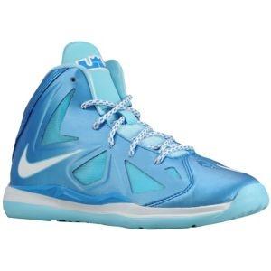 Nike Lebron X - Boys' Preschool - Basketball - Shoes - Photo Blue/Windchill