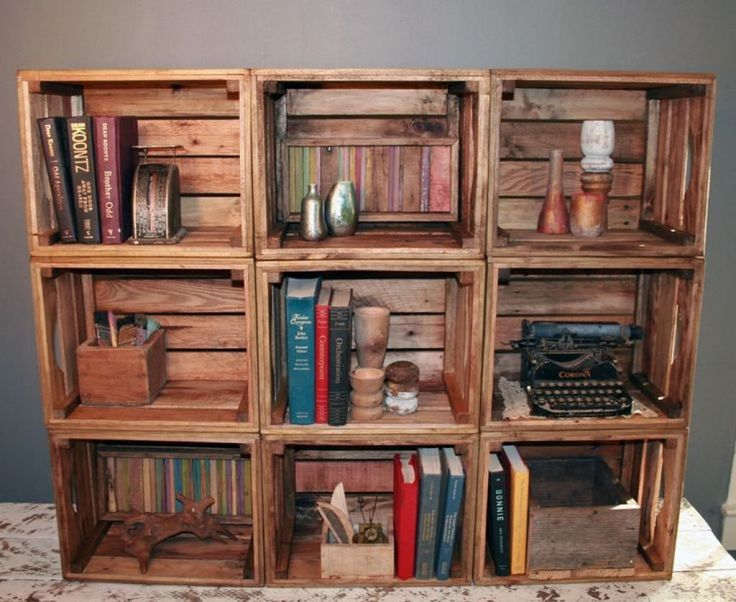 Create Your Handmade Bookshelves  -  A well-organized bookshelf acts as an attractive, functional home accent. To make bookshelves look more appealing, you can even make your own handmade...