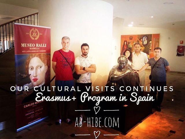 Our Cultural Visits Continues #spain #erasmusplus #erasmuslife #erasmus2016…