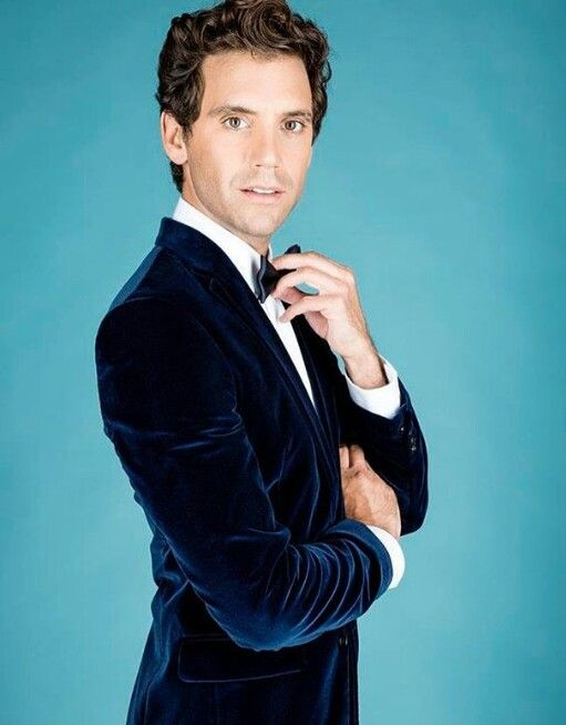 Mika in blue velvet Yesss