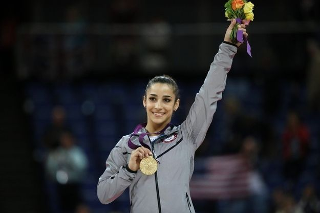 <b>A few awesome flips, a little controversy, and one annoyed spectator all add up to a night the American gymnast won't soon forget.</b> Oh and of course there was also the return of Aly's crazy, awesome parents.