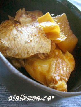 味がしみた大根が絶品☆鯛のあら煮 by cocoko [クックパッド] 簡単 ...