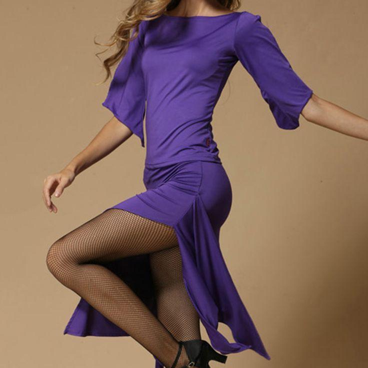 Новые Моды для Женщин Латинский Танец Платье Сексуальный Танец Конкуренции Платья Дамы Этап Производительность Сценический Костюм Танцевальная Одежда Набор купить на AliExpress