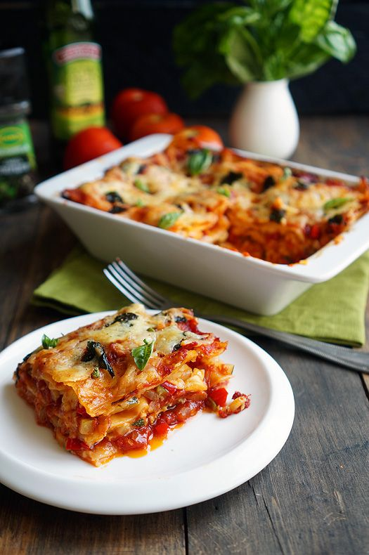 Овощная лазанья/ vegetable lasagna