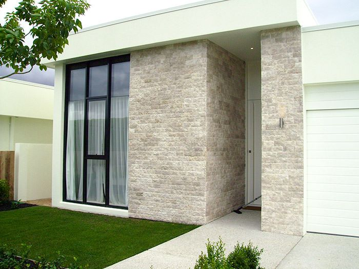 Gold Coast project lava chiselled facade
