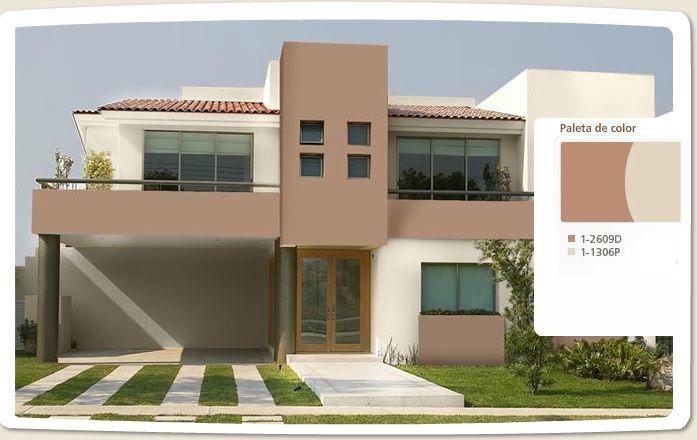 Gama de verde para exteriores fachadas de casas buscar - Pintura para fachada ...
