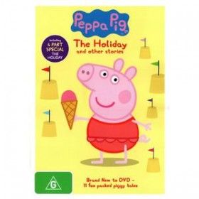 Peppa Pig: The Holiday DVD