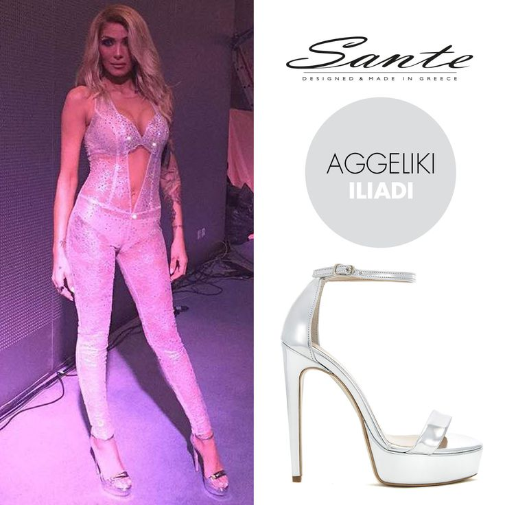 Aggeliki Iliadi (@aggeliki.iliadi) in SANTE High Heels (SKU-91761) styling by Dionusis Kolpodinos (@dennis_kolpodinos) #SanteSS16 #CelebritiesinSante Available in stores & online: www.santeshoes.com