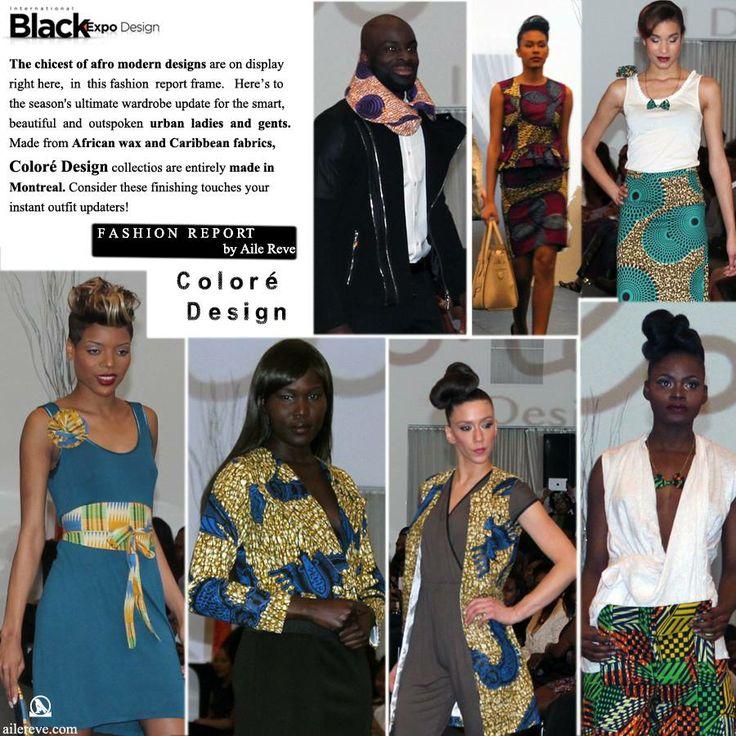 #ColoréDesign   Black Expo Design 2014  http://www.ailereve.com/ – à Loft Hotel - Montreal.