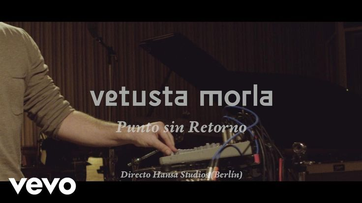 Vetusta Morla - Punto Sin Retorno - Directo Hansa Studios (Berlín)