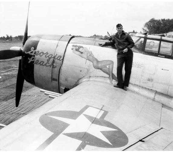 """P-47 """"GEORGIA PEACH """""""