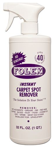 Folex Instant Carpet Spot Remover--This stuff is a godsend!!!