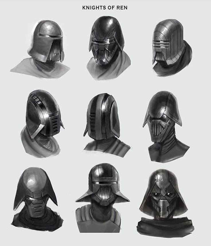 Concept art for 'Knights of Ren' by Lewis Jones