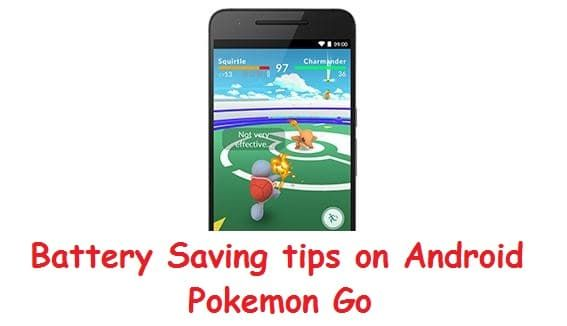 Save Battery life while your play Pokémon go on android mobile without Disturbing enjoyment and Stop Gaming Pokémon go Features and Functionality.