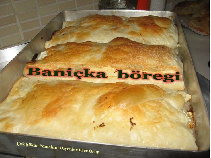 Pomak Börekleri   Baniçka Böreği Tarifi   Malzemeler :  Un Tuz Su Peynir …. Hazırlanışı ;; Kullanacağınız miktarda  unu ayarlayıp içerisine...