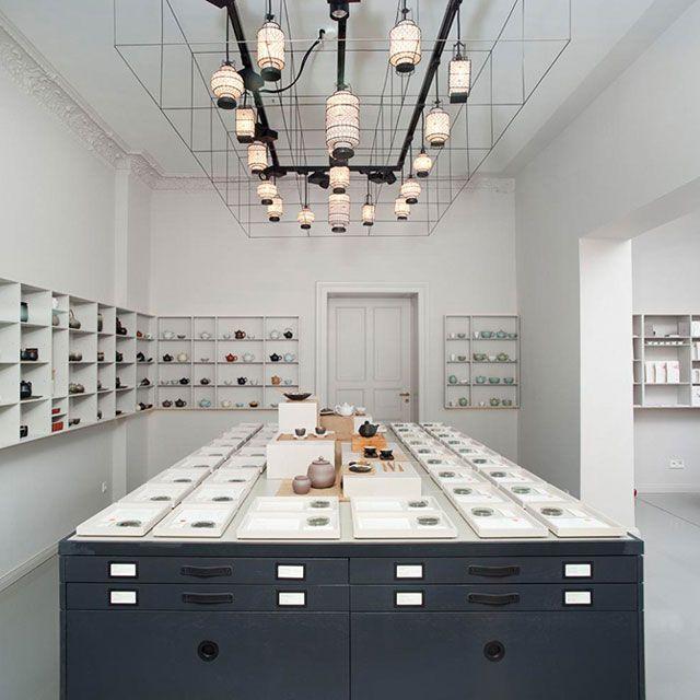 Paper & Tea Concept Store by Fabian von Ferrari // Berlin