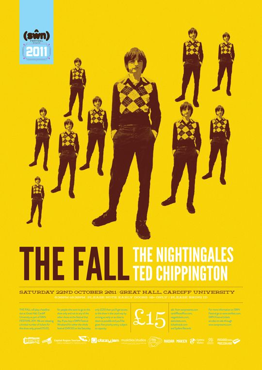 The Fall, The Nightingales and Ted Chippington