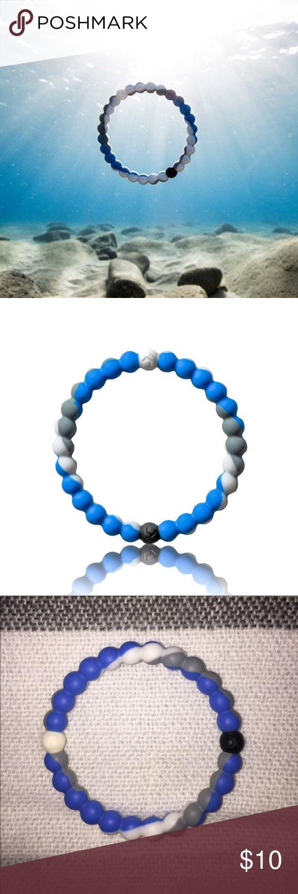 LOKAI shark week bracelet Lokai shark week !!!! 🦈🦈🦈 Lokai Jewelry Bracelets
