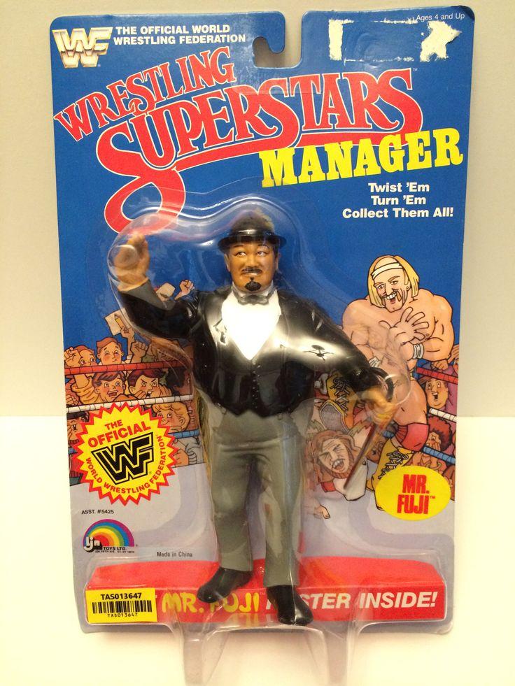"""(TAS013647) - 1985 LJN Wrestling Superstars Manager """"Mr. Fuji"""""""