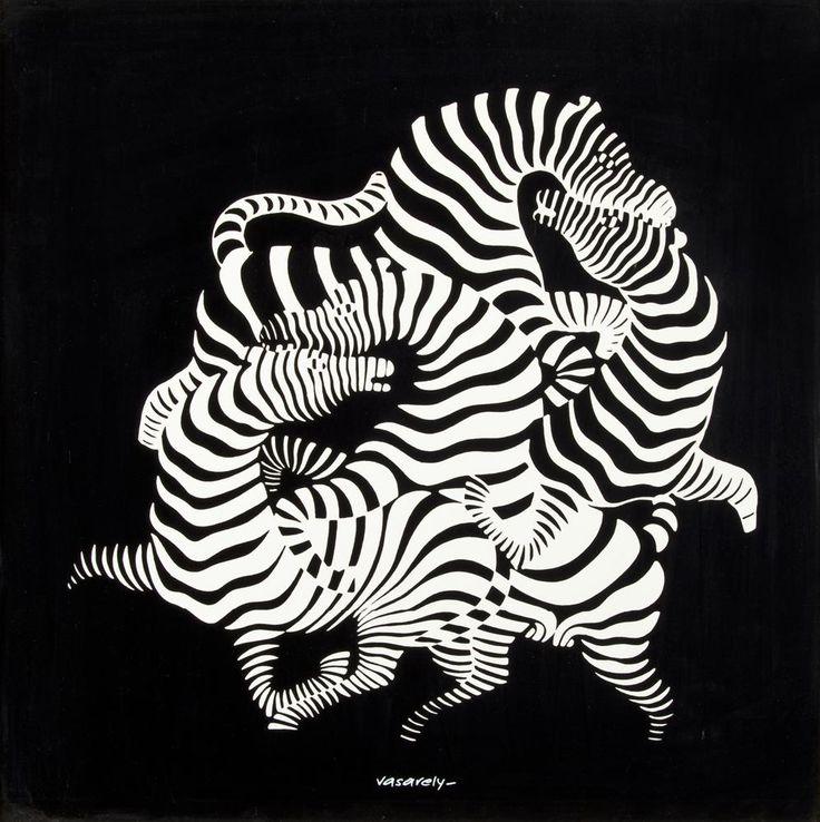 Victor Vasarely, Zebra...