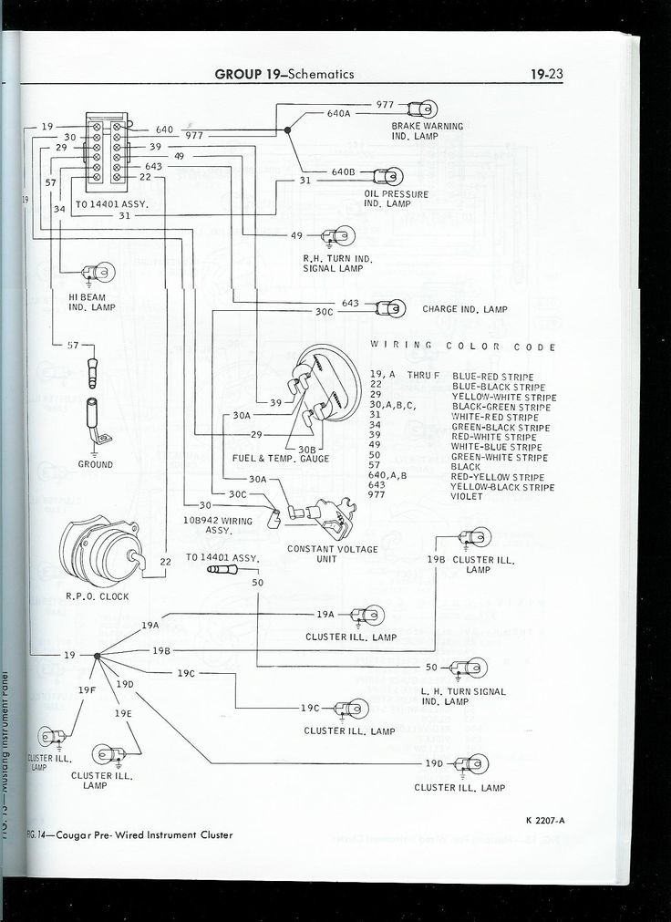 sunpro gauge cluster wiring diagram 1989 mustang gauge cluster wire diagram 1967 mustang wiring to tachometer | click image for larger ...
