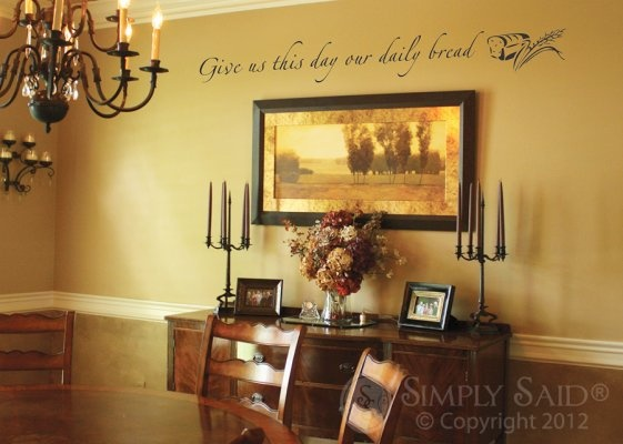 Magnificent Writing On The Wall Decor Ornament - Wall Art ...