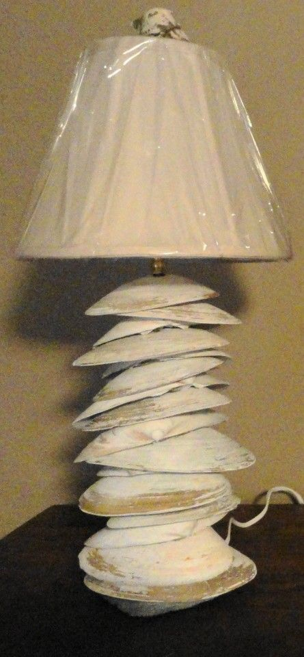 Shell Lamp  - Unique -End of Summer Sale :(