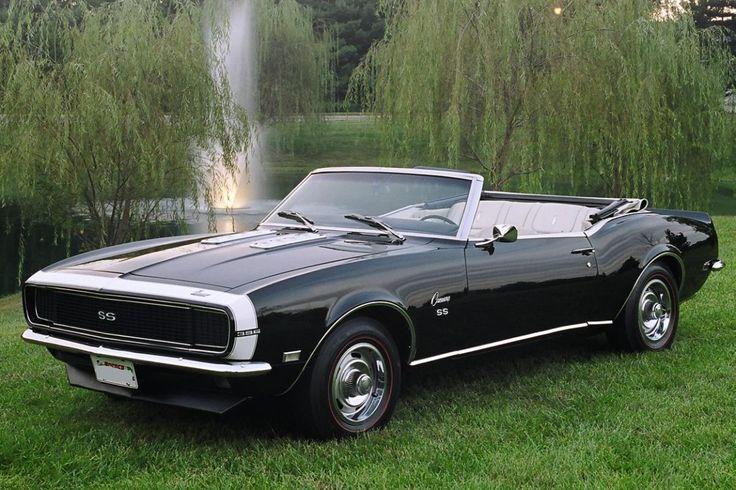 1968 Tuxedo Black SS/RS 396. Beautiful!