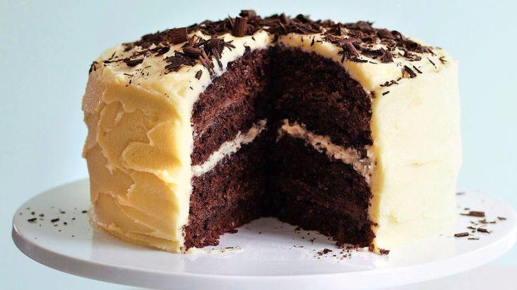 Torta s dvojakým krémom | Recepty.sk