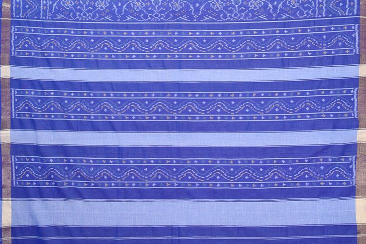 Cotton Patola PAT1SAR317 PURE COTTON HANDWOVEN PATOLA SAREE FROM RAJKOT Type HANDWOVEN COTTON PATOLA SAREE Material PURE COTTON Color ROYAL BLUE Length 5.5 Mtrs Blouse 75 Cms Washing Instruction DRYCLEAN ONLY