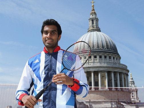 Rajiv Ouseph - badminton