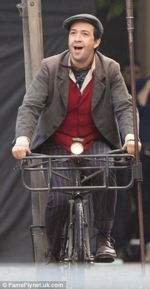 Lin-Manuel Miranda - Mary Poppins Returns - Jack the lamplighter