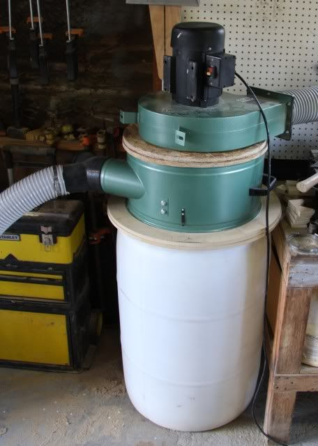 Modified Harbor Freight Dust Collector
