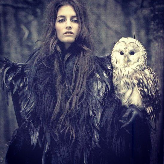 "Mark Segal Vogue ""Conte d'hiver"" #marksegal #vogue #inspiration #winterfairytale #artphotography #art"