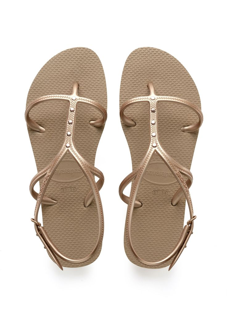 Havaianas Allure Maxi Sandal Rose Gold/Rose Gold  Price From: 48,01$CA