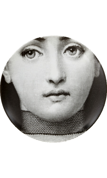 Fornasetti decorative plate.  I absolutely LOVE Fornasetti.