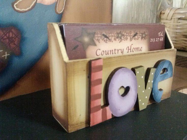 Country madera painting