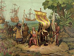 1492, Columbus opens the route to the New World for Spain. Beginning of the Modern Age.