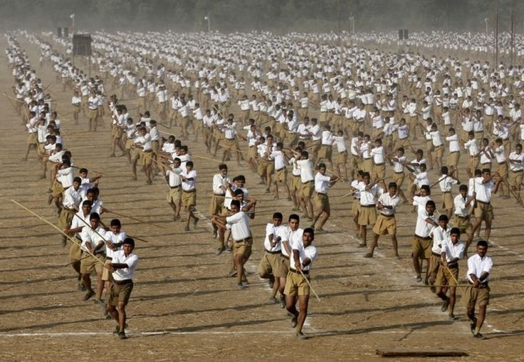 """Top News: """"INDIA: Hindu Nationalist Group Spreads Hindu-First Ideology To All Corners Of India"""" - http://www.politicoscope.com/wp-content/uploads/2015/10/Volunteers-of-the-Hindu-nationalist-organisation-Rashtriya-Swayamsevak-Sangh-RSS-hold-sticks-as-they-march-during-a-training-session-at-Tatiberia-village-in-West-Bengal-India.jpg - The group propels the ruling party of Prime Minister Narendra Modi to power in as many states as The Hindu Nationalist Group propels the ruling p"""