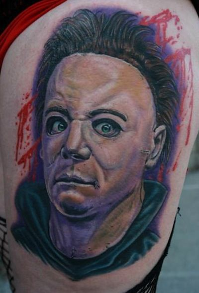 17 best images about michael myers on pinterest rob for Friday the 13th tattoos michigan