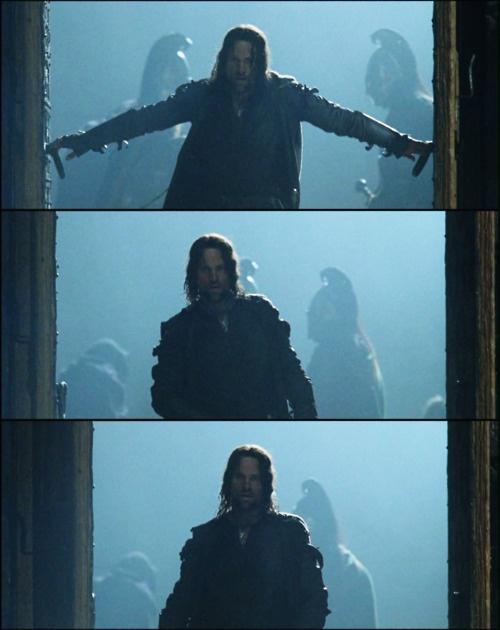 Strider: Hand, Rings Hobbit, Hobbit The, Double Doors, Hobbit Lotr, Lord Of The Rings, Aragorn Walking
