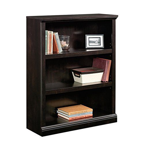 looking to give your home a fresh new look check out this two shelf bookcase from the sauder select collection it features an adjustable shelf making it