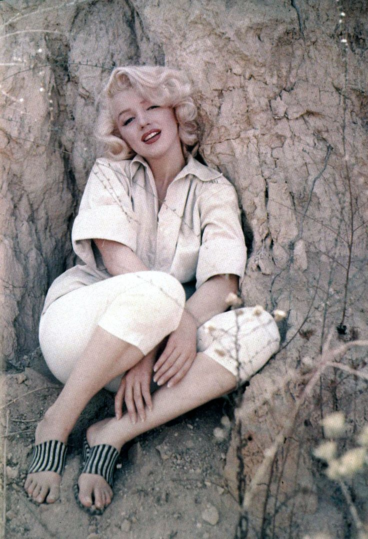 Marilyn Monroe photographed by Milton Greene in 1953