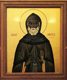 st. moses the black . /