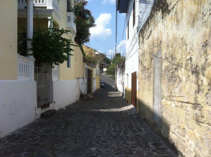 Calle angosta